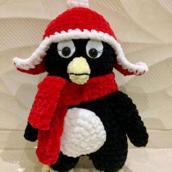 Knitted Toys Penguin