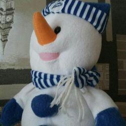 Χειροποίητο χιονάνθρωπο