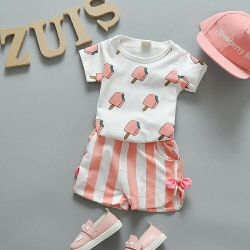 Suit for girl, summer