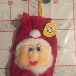 Πρωτοχρονιάτικη τσάντα για γλυκά
