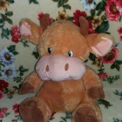 Children's Yumuşak çocuk gelişimi oyuncak inek
