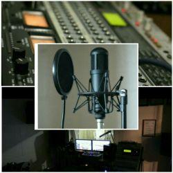 Recording studio, recording of songs