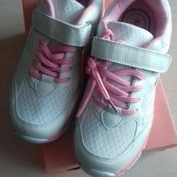 Yeni spor ayakkabı beyaz pp 36