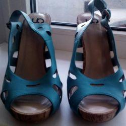Sandale 39 r-p călcâi 11 cm