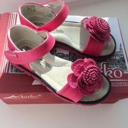 Туфли, сандали, босоножки детские, 28 размер.