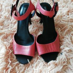 Sandals genuine leather