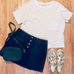 Sisley skirt-trapezoid, slip