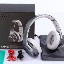 Wireless headphones sodo MH-5 + speaker