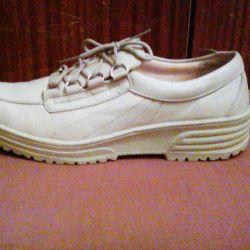 Deri rahat ayakkabı-spor ayakkabı