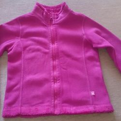 Two-sided sweatshirt