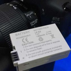 Battery for canon