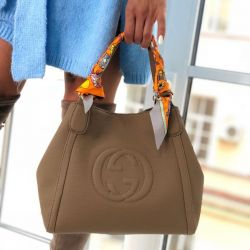 Bag Gucci leather new