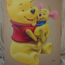 Pictura pe panza pentru copii