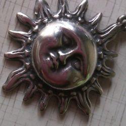 кулон Сонце