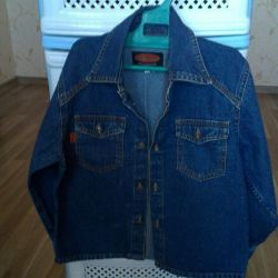 Jeans jacket for the girl p.30