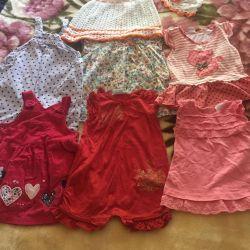 Φορέματα για 68-74 εκ