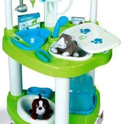 Oyun seti Veteriner mini kliniği Smoby