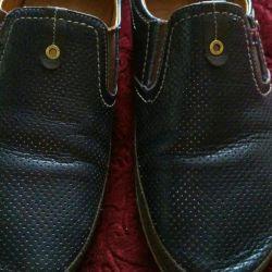 Ανδρικά παπούτσια, δερμάτινα