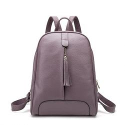 Backpack 🐂 genuine leather, two colors