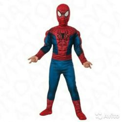 Carnival costume Spiderman with muscles