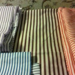 Flap calico in stripes