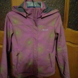 Demi-season jacket for the girl
