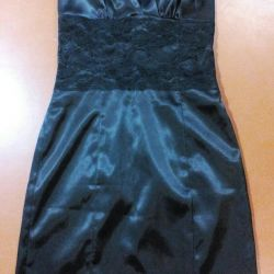 Black evening dress 42-44