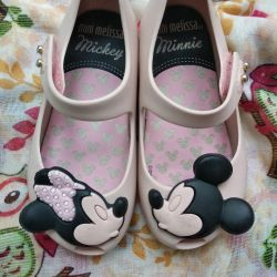 Shoes mini melissa pink 22-23