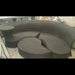 Мебель для сада плетеный ротанг