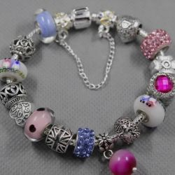 Pandora Style Bracelet 0208