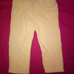 Corduroy pants M&S