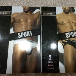 Erkek pantolonu 2 adet. Kutuda