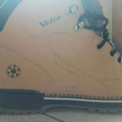 Νέες χειμωνιάτικες μπότες ανδρών, 45 μεγέθη.