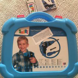 Набор инструментов детский- новый