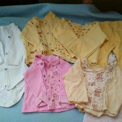 60 p / adet bebek giysileri.