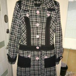 Пальто стильное р.44-46