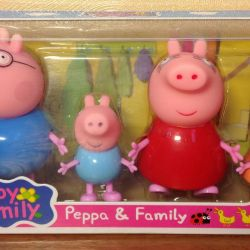 Peppa family, scooter