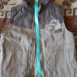 New vest for a boy of 5-6 years.