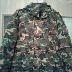 Winter suit for fishing and hunting