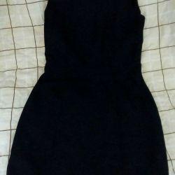 Платье чёрное сарафан (офисный вариант) р.42-44