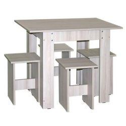 Набор стол+4 табурета