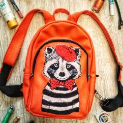 New handmade backpack