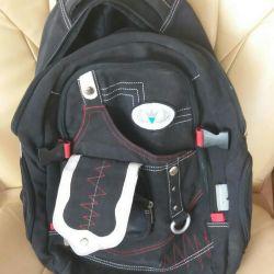 Рюкзак б/у ткань. 45х37х13.