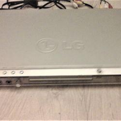 DVD плеер LG,  диски с фильмами