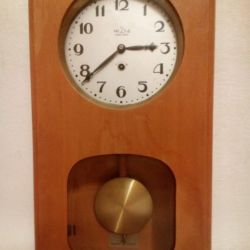 Wall clock with the USSR battle