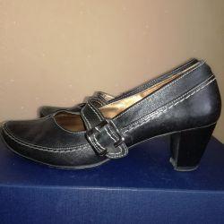 Pantofi din piele 38- 39