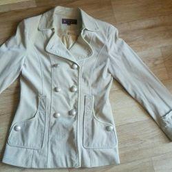 Jacket - velveteen windbreaker.