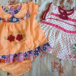 Summer dresses for 3-6 months
