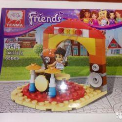 Σχεδιαστής Tenma Friends 65 λεπτομέρειες TM2008-2