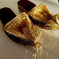 παιδικά παπούτσια (τουρκικού στιλ), νέα.